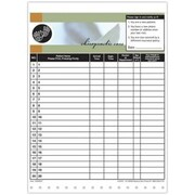 Medical Arts Press Designer Privacy Sign-In Sheets, Hand