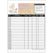 Medical Arts Press Designer Privacy Sign-In Sheets, Healthy Heart