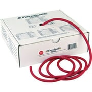 Thera-Band Exercise Tubing 100 ft. Dispenser Box, Medium, Red