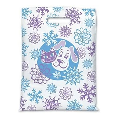Jumbo Scatter-Print Supply Bags, Snow and Pets