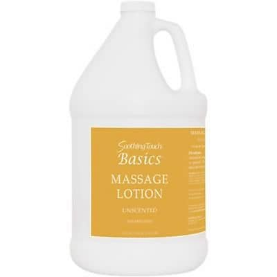 Soothing Touch® Basics Unscented Massage Lotion, Gallon