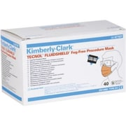 Kimberly-Clark Tecnol Fluidshield Procedure Face Mask with Visor