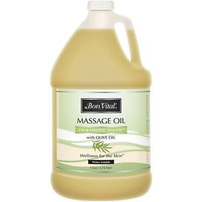 Medical Arts Press® Bon Vital Therapeutic Touch Oil, 1 Gallon