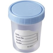Sterile Specimen Cups, 4 oz., Blue Cap
