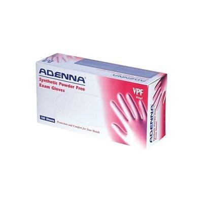Adenna® Vinyl Powder-Free Exam Gloves, Large