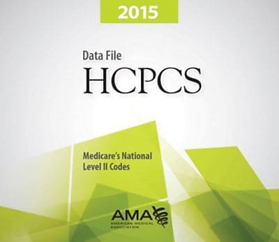AMA HCPCS Data File, Single User, 2015