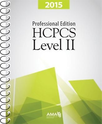 AMA HCPCS Level II Professional Edition, 2015
