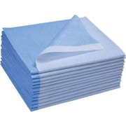 Avalon Stretcher Sheet, 40 x 72 inch, Blue, 50/Case