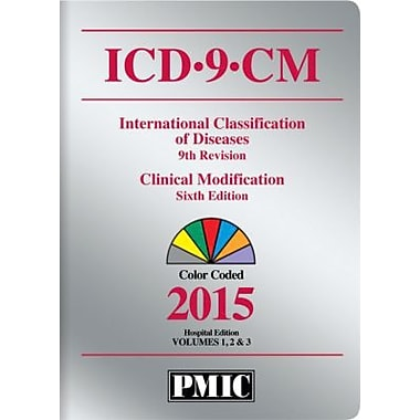 PMIC 2015 ICD-9-CM Code Books, Hospital Edition, Coder's Choice, Volumes 1, 2 and 3, Softbound