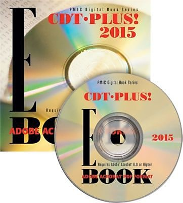 CDT Plus! 2015 Dental Procedure Codes E-Book CD