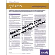 AMA 2015 Express Reference Coding Cards for CPT, Pulmonary/Respiratory