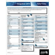 AMA ICD-10 Snapshot 2015 Coding Cards, Family Practice