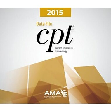 AMA CPT Data Files, Single User, 2015