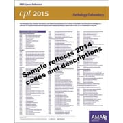 AMA 2015 Express Reference Coding Cards for CPT, Pathology/Laboratory