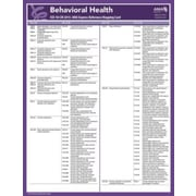 AMA ICD-10 Mappings 2015 Express Reference Coding Cards: Behavorial Health