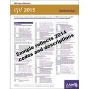 AMA 2015 Express Reference Coding Cards for CPT, Ophthalmology