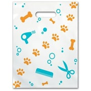 Small Scatter-Print Supply Bags, Pet Grooming