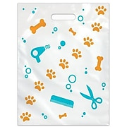 Large Scatter-Print Supply Bags, Pet Grooming