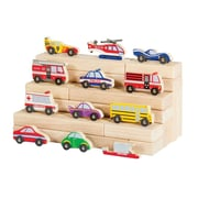 Guidecraft Wooden Vehicle Collection, 12/Set