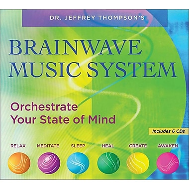 Sounds True Brainwave Music System, 6/Pack