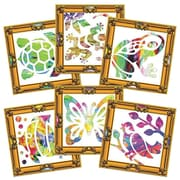 Roylco Masterpiece Finger Paint Frames, 30/Pack