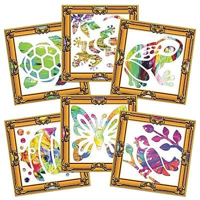 Roylco Masterpiece Finger Paint Frames, 30/Pack