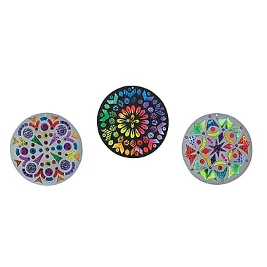 S&S Worldwide Sun Catcher Mandalas, 24/Pack