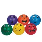 S&S Worldwide Smedley Vinyl Balls, 6/Set