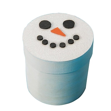 S&S Worldwide Snowman Box Craft Kit, 24/Pack