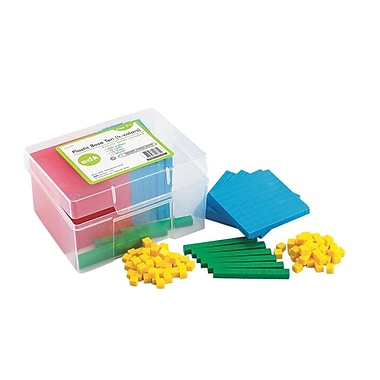 EDX Education Plastic Base Ten Set