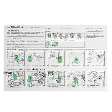 S&S Worldwide Thumbprint Comic Strip, 24/Pack