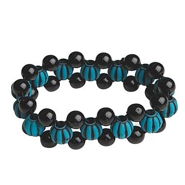 The Beadery Turquoise Bead Bracelet Craft Kit, 12/Pack