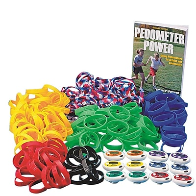 Spectrum Step Pedometer Multicolor Easy Pack