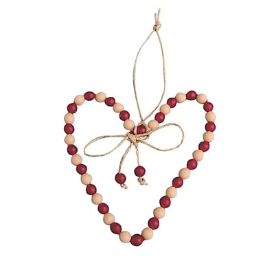 The Beadery Heart Ornament Craft Kit, 48/Pack