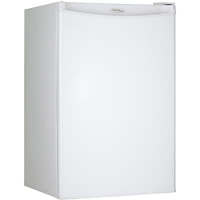 Danby 4.4-Cubic Feet Mini Refrigerator; White