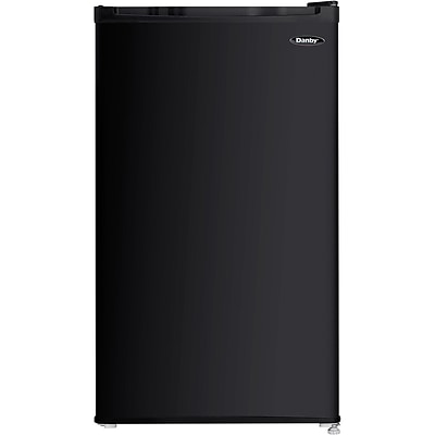 Danby 3.2-Cubic Feet Compact Refrigerator; Black