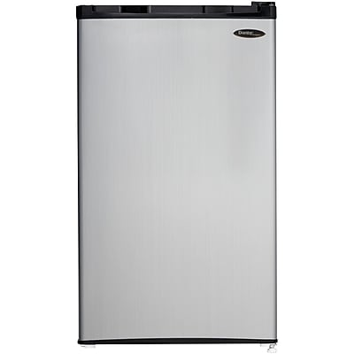 Danby Compact 3.2-Cubic feet Spotless Steel Refrigerator
