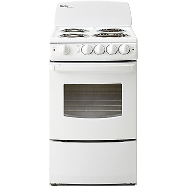 Danby 2.40-Cubic Feet Electric Range with Coil Element Cooktop White