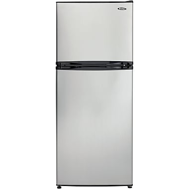 Danby 10-Cubic Feet Refrigerator, Stainless Steel