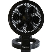Keystone 7-inch Convertible Fan, Black