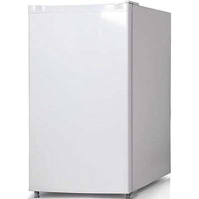 Keystone Energy Star 4.4-Cubic Feet Single-Door Refrigerator with Freezer, White