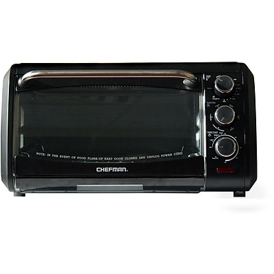 Chefman Countertop Convection Oven, Black