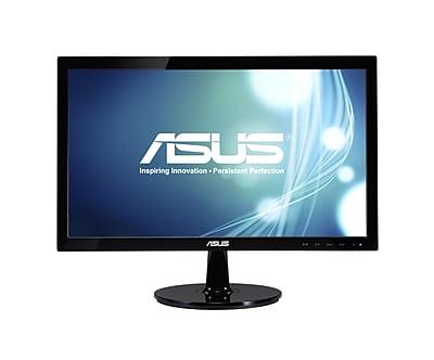 ASUS® VS208N-P HD+ Adjustable Widescreen LED LCD Monitor, 20