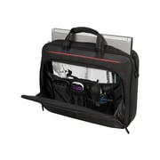TARGUS Classic Black Polyester Top Load Case for Laptops