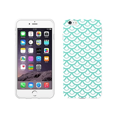 Centon OTM Elm Collection Case for iPhone 6 Plus, White Glossy, Teal