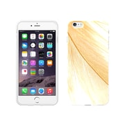 Centon OTM Feather Collection Case for iPhone 6, White Glossy, Gold