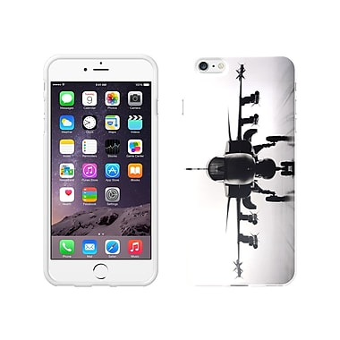 Centon OTM Rugged Collection Case for iPhone 6 Plus, White Glossy
