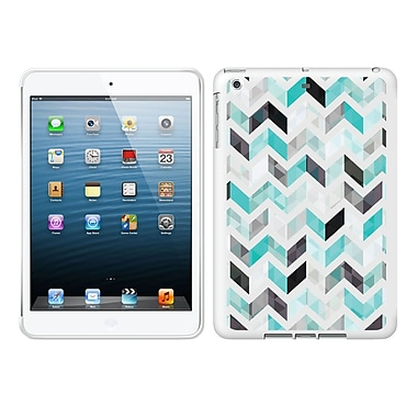 Centon IASV1WG-ZGY-01 OTM Ziggy Collection Case for Apple iPad Air, White Glossy, Aqua