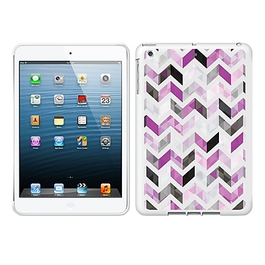 Centon IASV1WG-ZGY-03 OTM Ziggy Collection Case for Apple iPad Air, White Glossy, Purple