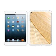 Centon IMV1WG-FTR-01 OTM Feather Collection Case for Apple iPad Mini, White Glossy, Gold